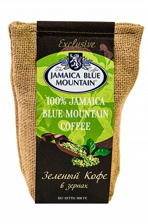 "Зеленый кофе Jamaica Blue Mountain ""Gold Amber"""